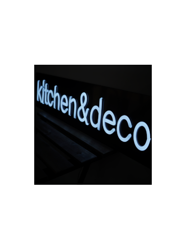 LED사인제작 : kitchen & deco