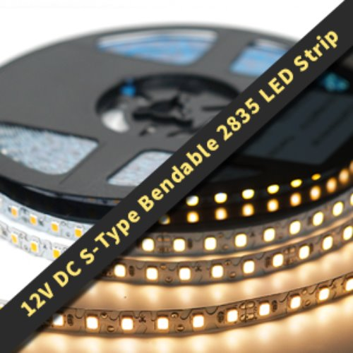 12v DC S-type bendable 2835 LED Strip(부가세포함가)